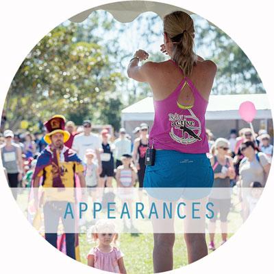 Health & Fitness Presenter Queensland